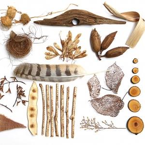 Природные материалы: