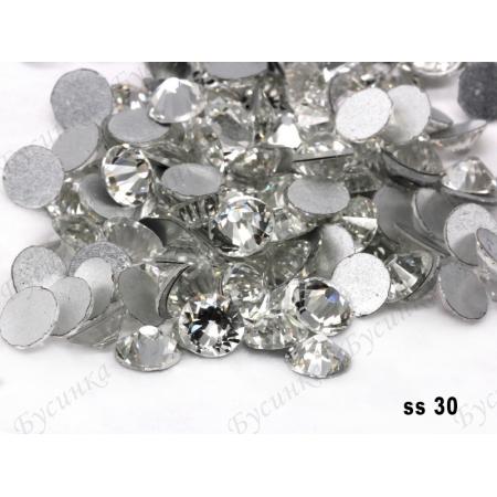 """""""Кристалл"""" стразы SWA crystalls без клея ss 30 пачка 3 гр."""