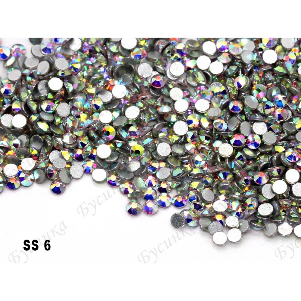 """""""АВ Кристалл"""" 1.3-5мм стразы SWA crystalls без клея ss 6 пачкаModel 1500-16 1 гр."""