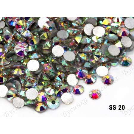 """""""АВ Кристалл"""" 1.3-5мм стразы SWA crystalls без клея ss 20 пачкаModel 1500-16 6гр."""