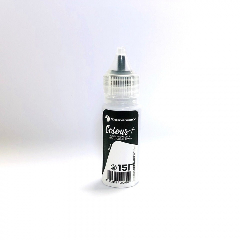 Краситель EpoximaxX Colour для эпоксидной смолы, 15гр., Цвет: Белый
