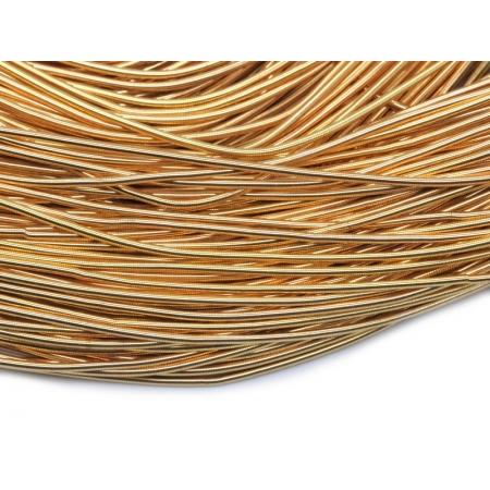 Канитель гладкая Золото русское 1 мм. (00090)