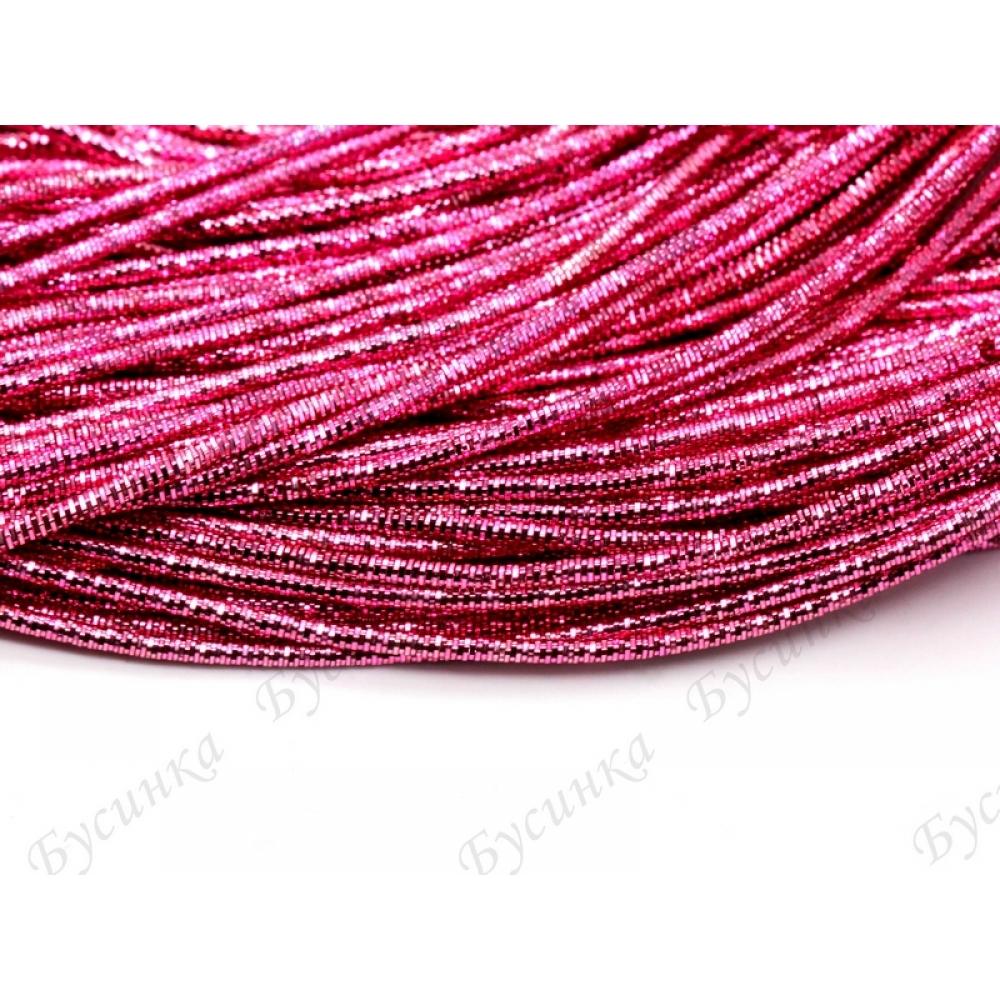 Трунцал квадратный Розовый яркий 1,5 мм. (00030) 3 гр.