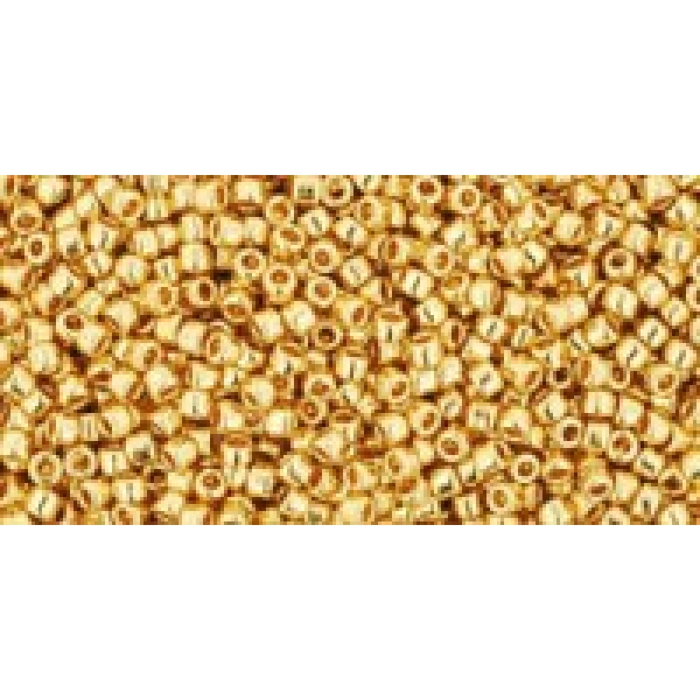 БисерTOHO15/0, Metallic-Gold, № цвета-712