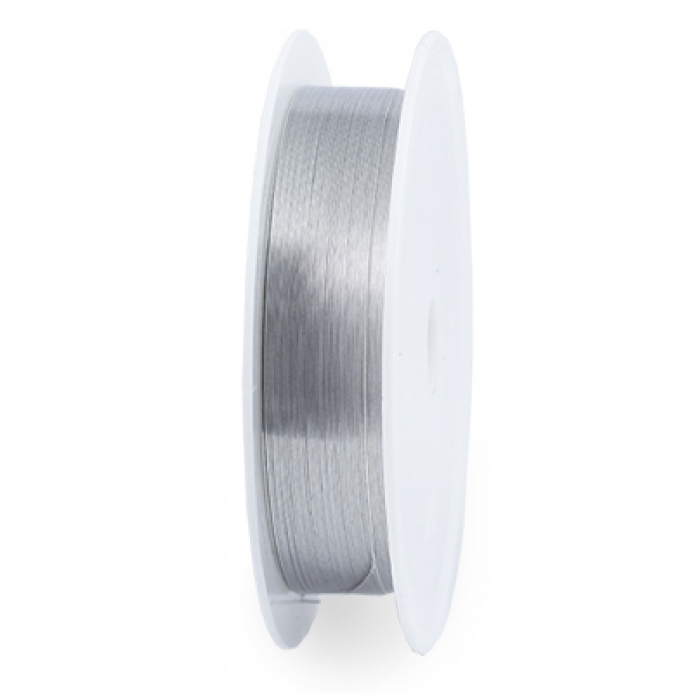 Железная Проволока 0.3мм/25м Серебро