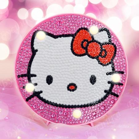 Набор-ночник для детского творчества, Hello Kitty, 15х15см.