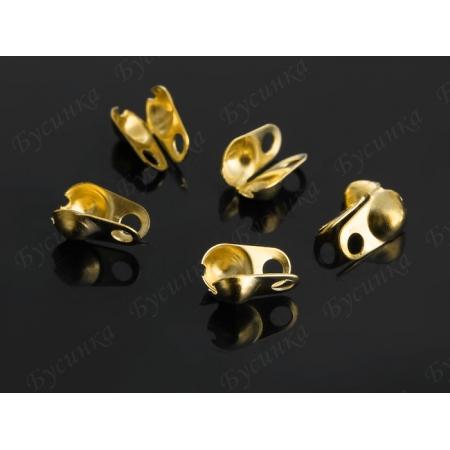 Каллоты из Железа Створки 8х3,2мм, Золото