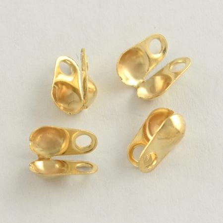 Каллоты из Железа Створки 4х2мм, Золото