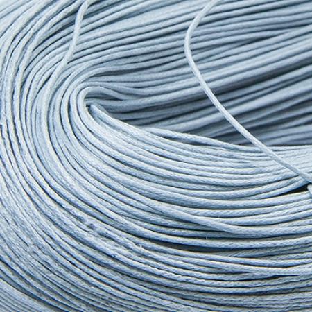 Шнур вощеный хлопок 0.7мм, Серый