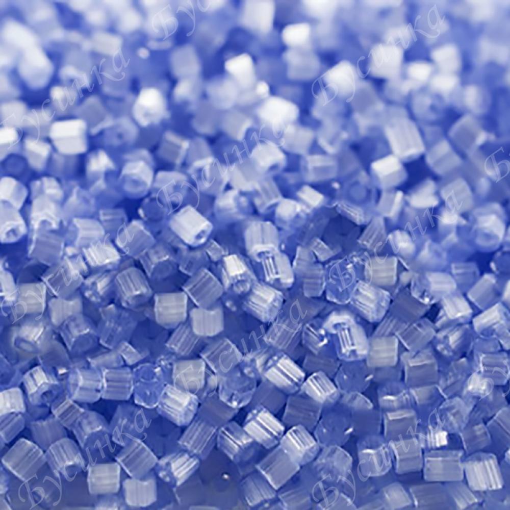 Бисер чешский Preciosa рубка сатин 9/0 05231 Голубой, 5г.