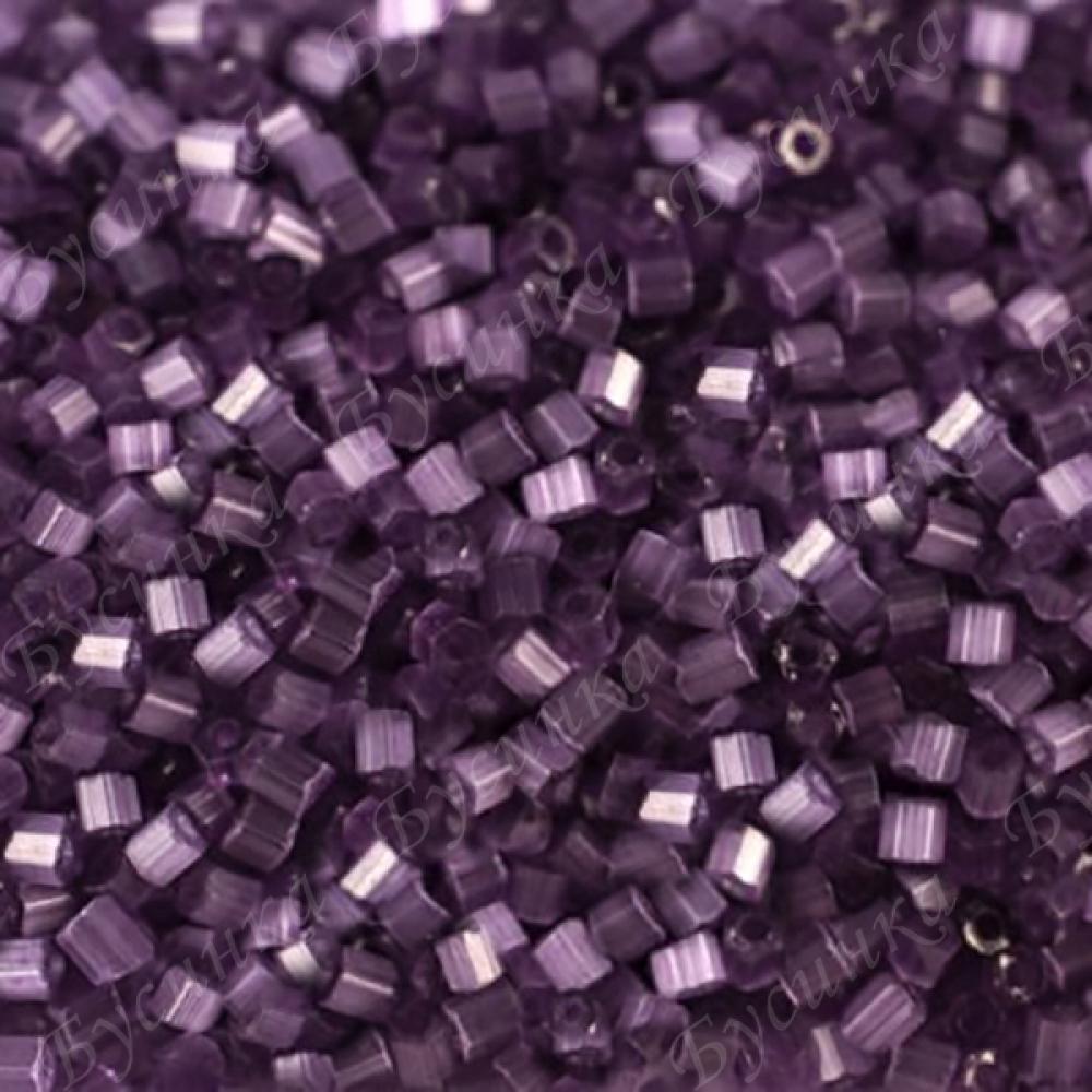Бисер чешский Preciosa рубка сатин 9/0 05622 Фиолетовый, 5г