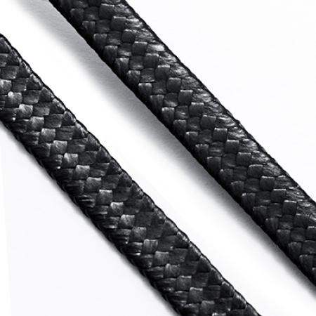 Шнур Вощеный Полиэстер 5х1мм, Черный