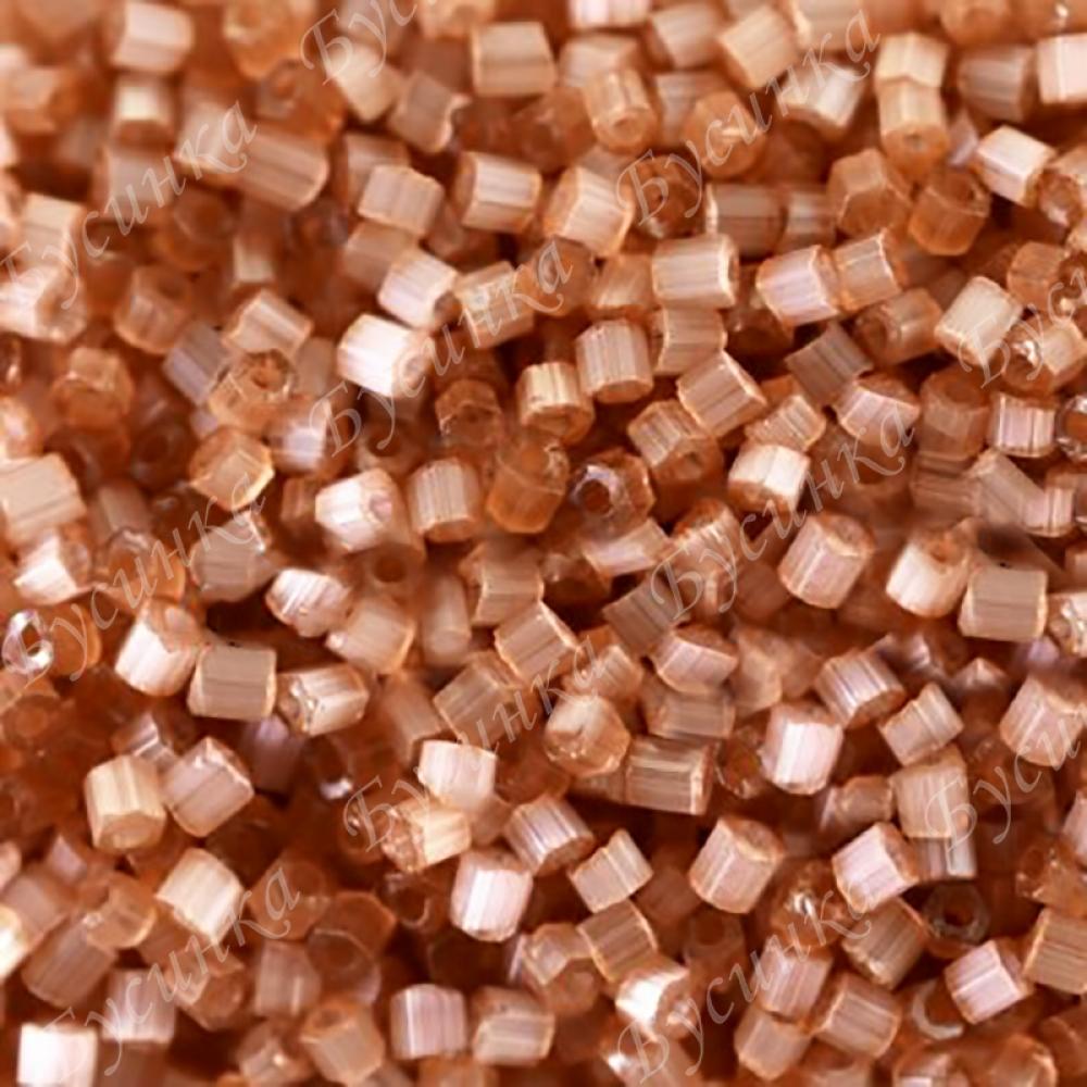Бисер чешский Preciosa рубка сатин 9/0 05111 светло-коричневый, 5г