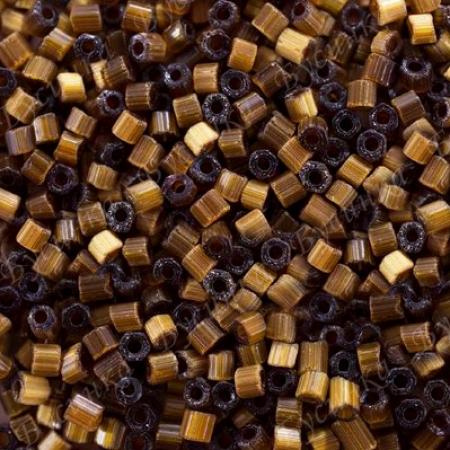Бисер чешский Preciosa рубка сатин 10/0 15101 Коричневый, 5г