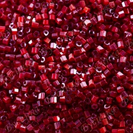Бисер чешский Preciosa рубка сатин 10/0 95081 Красный, 5г