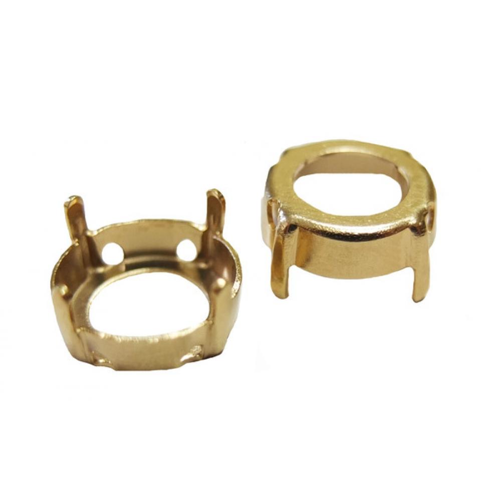 Цапы (касты) 12 мм Цвет: Gold Plating (Томпак)